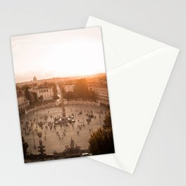 Rome from above Stationery Cards