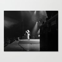 dave matthews Canvas Prints featuring Dave Matthews Band  by Hum Chee