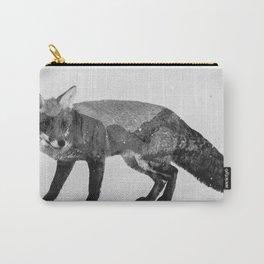 Fox (B&W) Carry-All Pouch