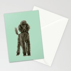 Poodle Stationery Cards