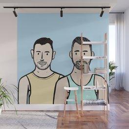 Beard Boy: Jonny & Anthony Wall Mural
