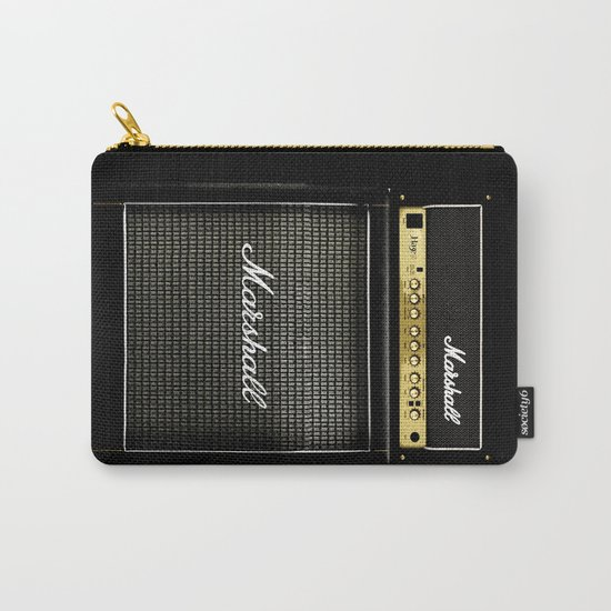 guitar electric amp amplifier iPhone 4 4s 5 5s 5c, ipod, ipad, tshirt, mugs and pillow case Carry-All Pouch