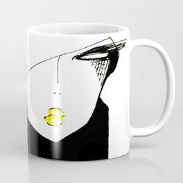 black&white portrait Coffee Mug