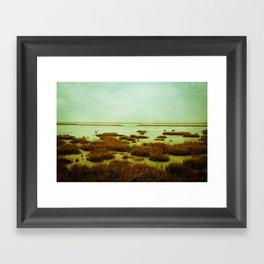 wadden sea Framed Art Print