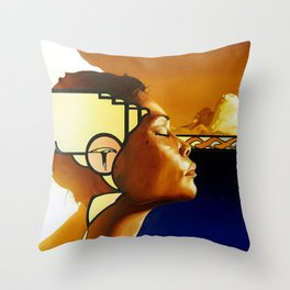 Nakeesa Throw Pillow
