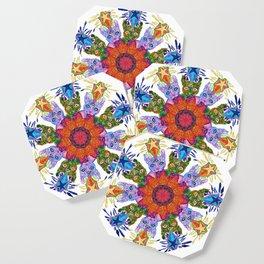 Psychic Cat Mandala Coaster