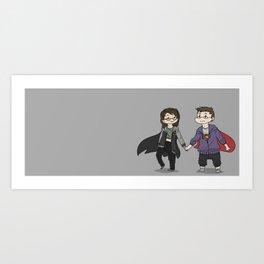 Me and You Art Print