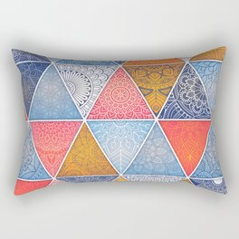 Pattern Mandala Losange Rectangular Pillow
