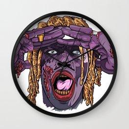 YOUNG THUG-ZOMBIE Art Wall Clock
