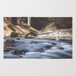 Secret waterfall - Landscape and Nature Photography Rug