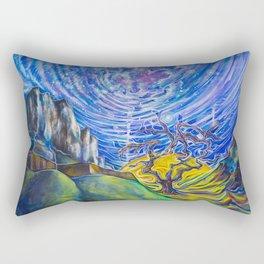 Galactic Manipura Rectangular Pillow