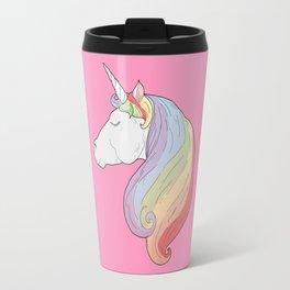 Unicorn Rainbow Travel Mug
