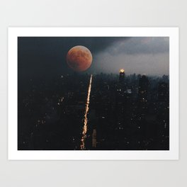 Space Dreams Art Print