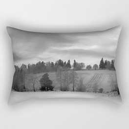 Fast moving clouds Rectangular Pillow