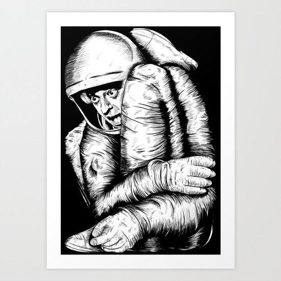 Infinite Improbability Drive Art Print