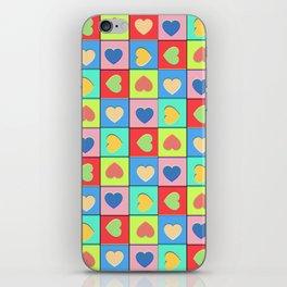 Heart Shaker Pattern iPhone Skin