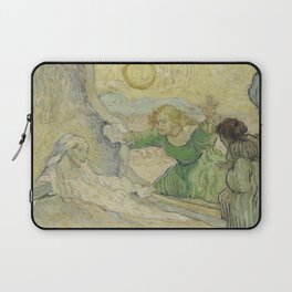 The Raising of Lazarus (after Rembrandt) Laptop Sleeve