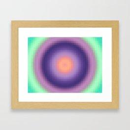 Ripple I Pixelated Framed Art Print