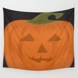 The Textured Pumpkin Wall Tapestry