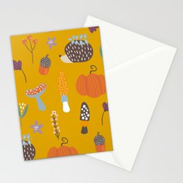 Fall Critters Stationery Cards