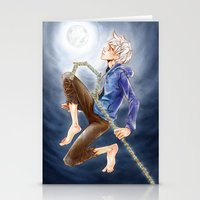 jack frost Stationery Cards featuring Jack Frost by SpaceMonolith