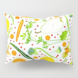 Fruits and vegetables pattern (13) Pillow Sham