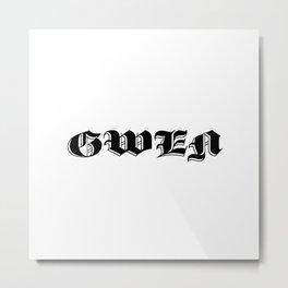 Gwen Metal Print