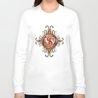 paisley Long Sleeve T-shirts featuring Paisley Redux by DebS Digs Photo Art