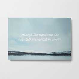 Of Monsters And Men / Mountain Sound Metal Print
