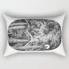 Desert Night Owl Rectangular Pillow