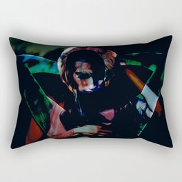 A Male Gaze Rectangular Pillow