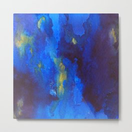 blue heavens Metal Print