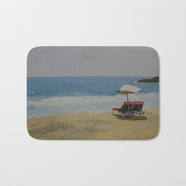 Beach Romance Bath Mat