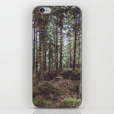 Dark Wood iPhone & iPod Skin