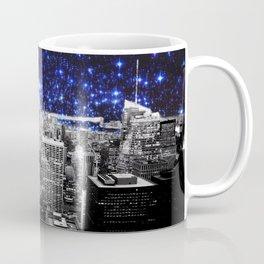 new york city. Blue Stars Coffee Mug