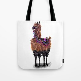 Lovely Lama Tote Bag