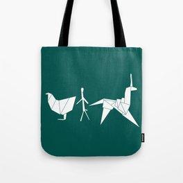 Gaff's Origami Tote Bag