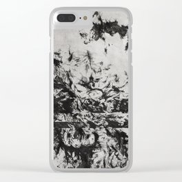 Rose of Sharon Clear iPhone Case