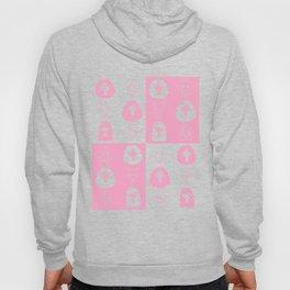 Girls' faces (pink) Hoody