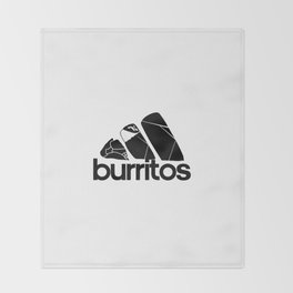 Burritos Throw Blanket