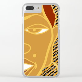 Africa Calls To Me Too Clear iPhone Case