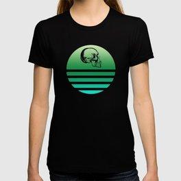 Classic Retro Design Skull 9 T-shirt