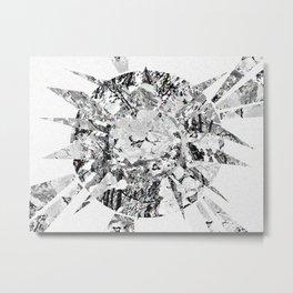 Moon Prism Power Metal Print