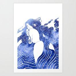 Halimede Art Print