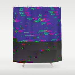 femmeglitch v2 Shower Curtain