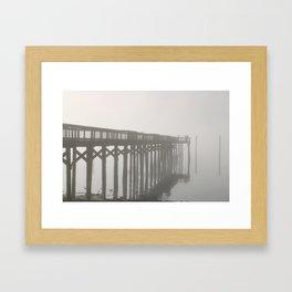In The Fog Framed Art Print