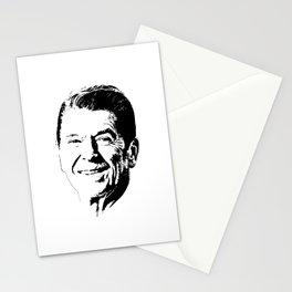 Ronald Reagan Minimalistic Pop Art Stationery Cards