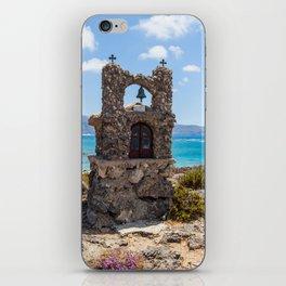 Elafonisi Island Shrine - Crete, Greece iPhone Skin