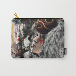 Mononoke San and The Spirit of the Wolf Carry-All Pouch