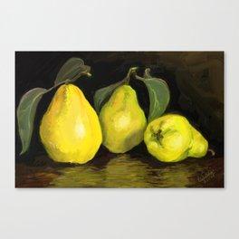 Quinces the fruit of love Canvas Print